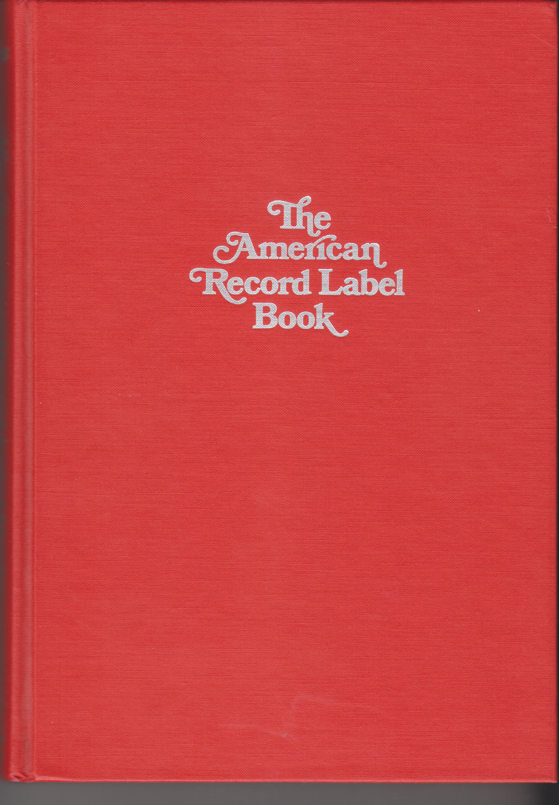 Image for The American Record Label Book