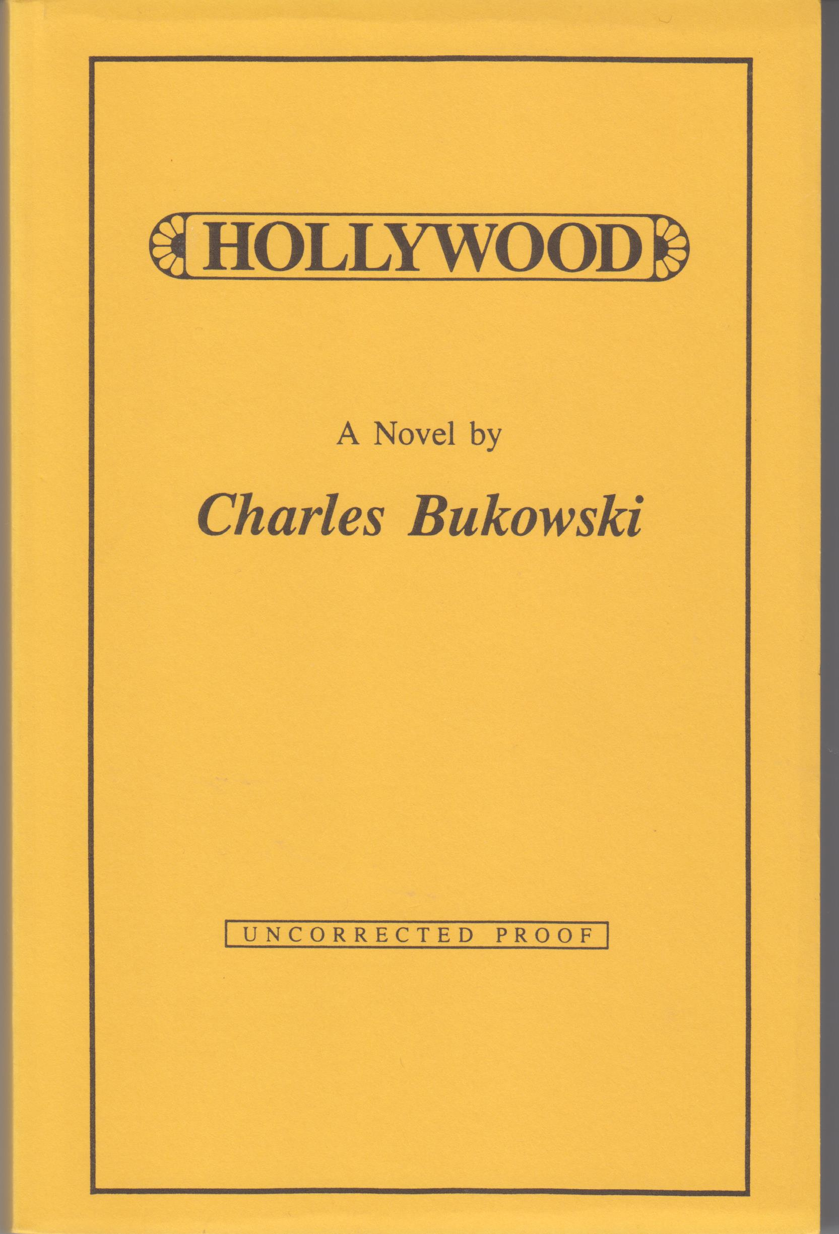 Image for Hollywood. A Novel.