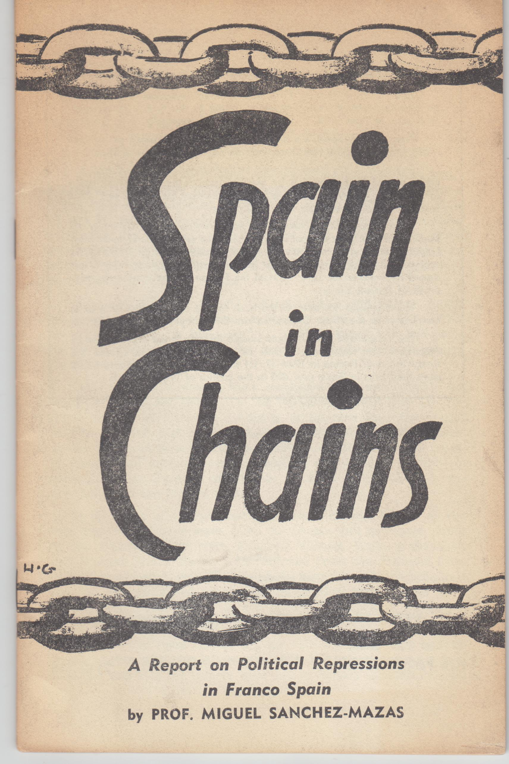 Image for Spain in Chains