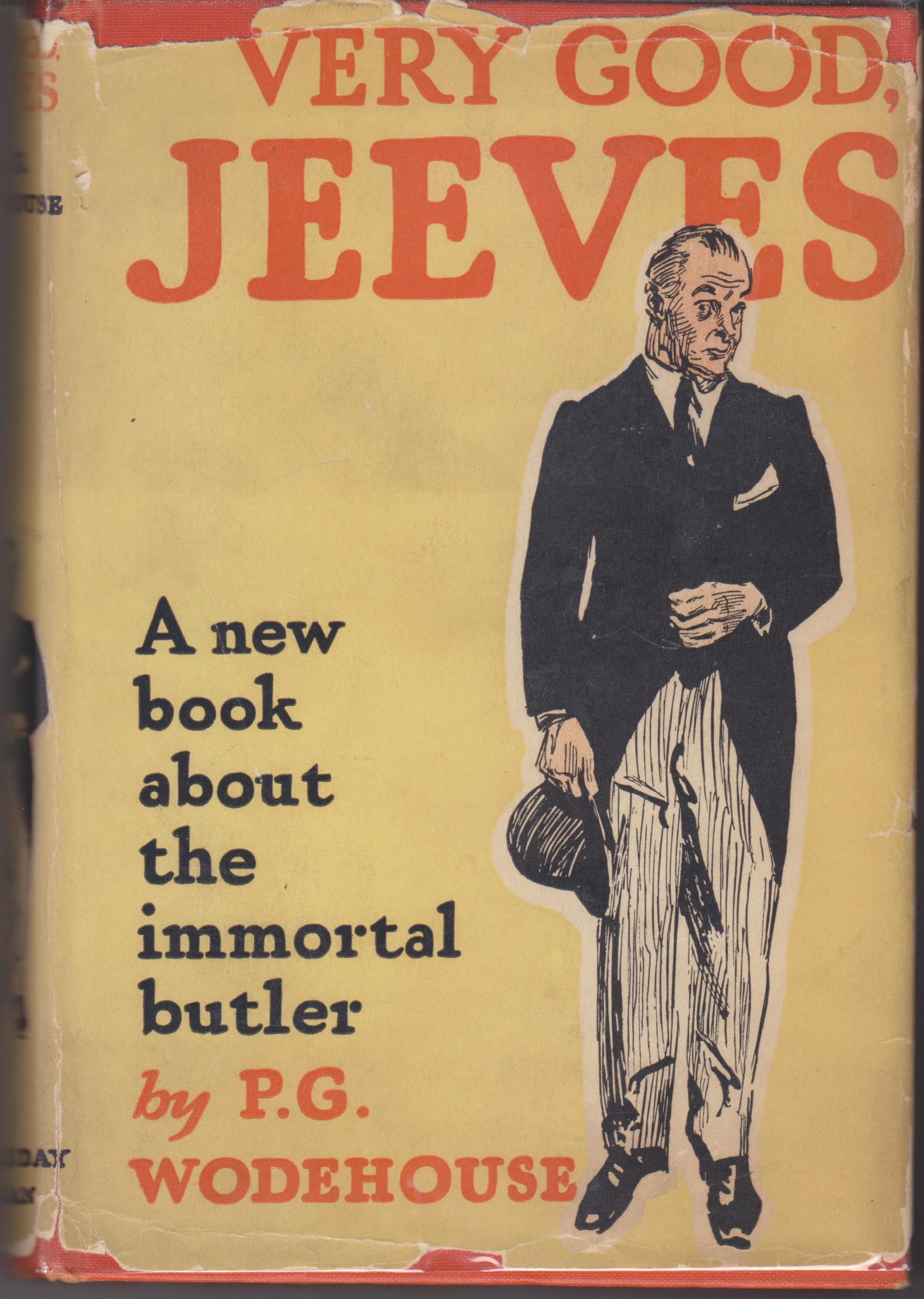 Image for Very Good, Jeeves
