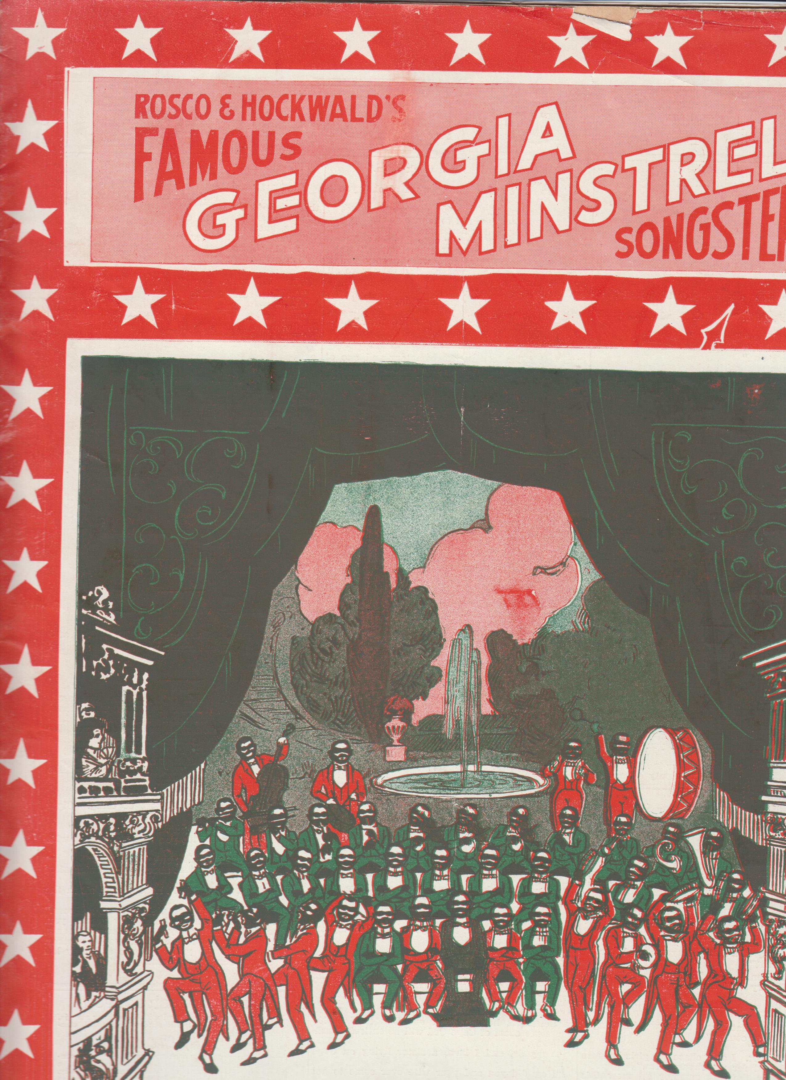 Image for Harold Rossiter's Popular Collection of Song Hits of the Day by the World's Best Writers,  Rosco & Hockwald's Famous Georgia Minstrel Songster {cover title}