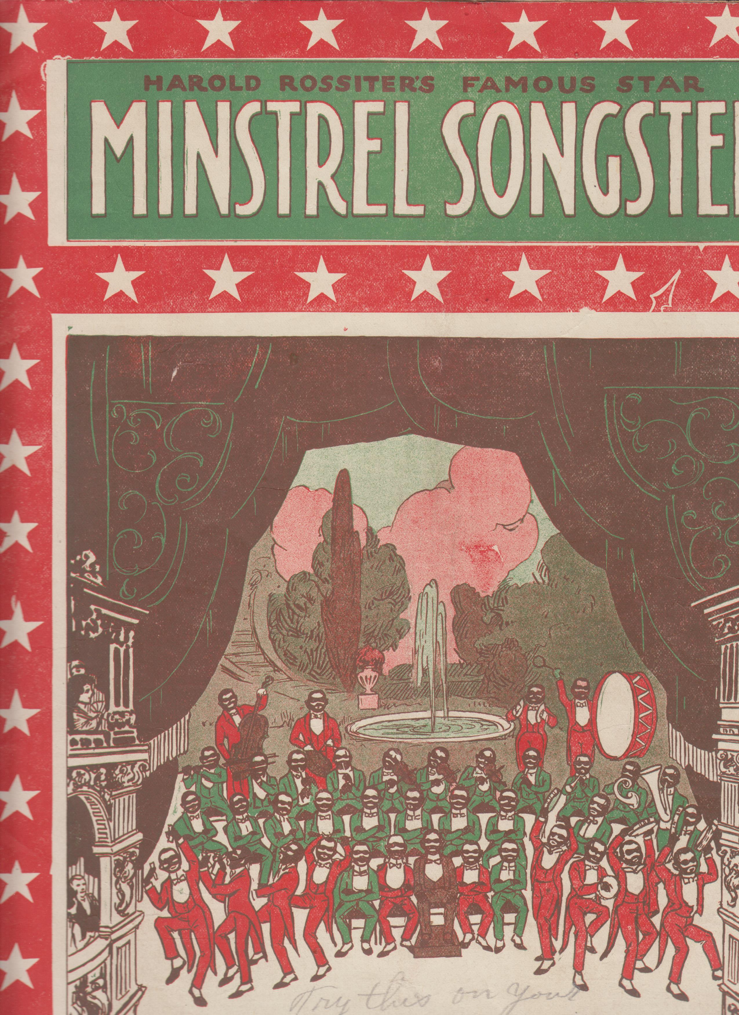 Image for Harold Rossiter's Popular Collection of Song Hits of the Day by the World's Best Writers  Harold Rossiter's Famous Star Minstrel Songster [cover title]