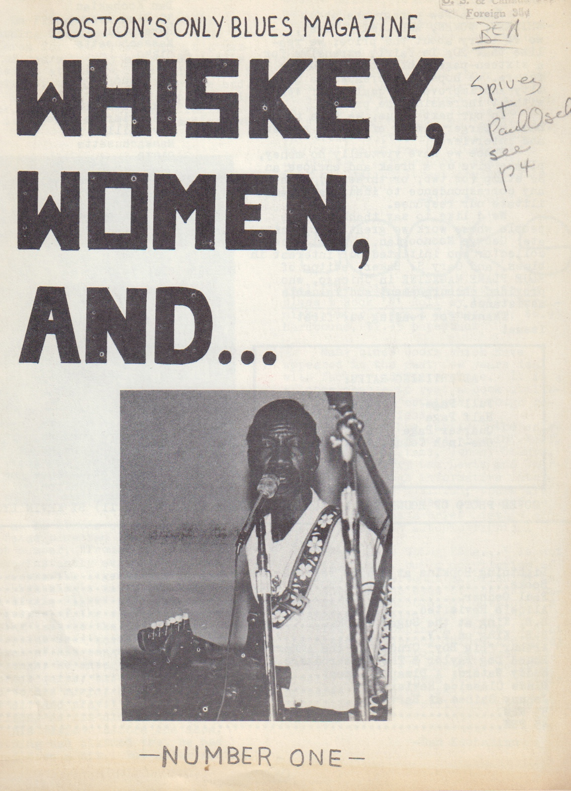 Image for Whiskey, Women, and.... No. 1